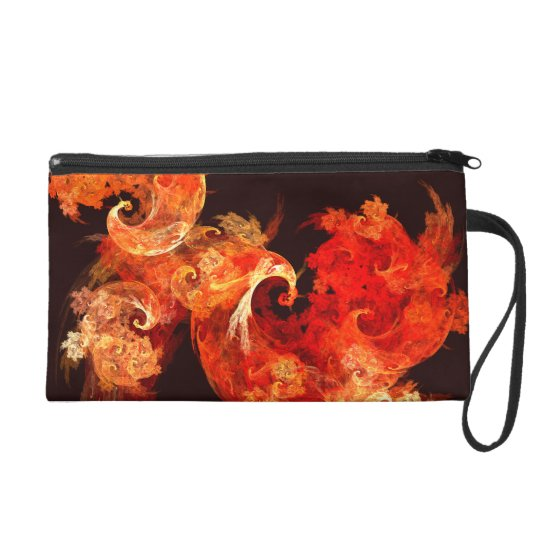 Dancing Firebirds Abstract Art Bag