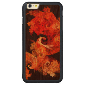 Dancing Firebirds Abstract Art Carved® Cherry iPhone 6 Plus Bumper