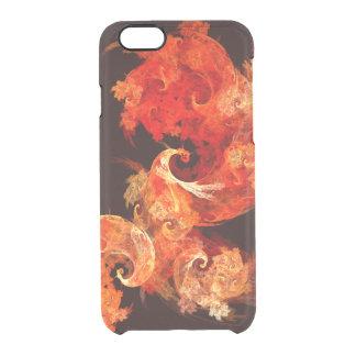 Dancing Firebirds Abstract Art Clear iPhone 6/6S Case