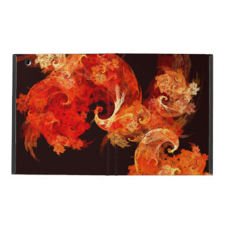 Dancing Firebirds Abstract Art iPad Cover