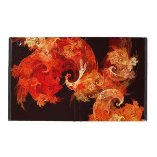 Dancing Firebirds Abstract Art iPad Covers