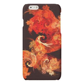 Dancing Firebirds Abstract Art Matte iPhone 6 Case