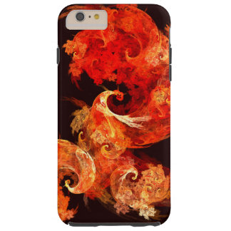 Dancing Firebirds Abstract Art Tough iPhone 6 Plus Case