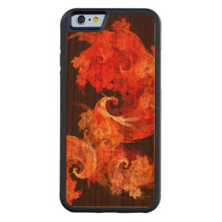 Dancing Firebirds Abstract Art Carved® Cherry iPhone 6 Bumper