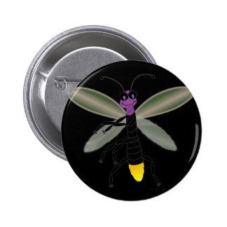 Dancing Firefly Pinback Button