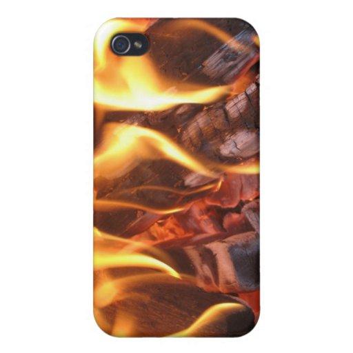 Dancing Flames iPhone 4 Case