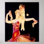 "Dancing Flapper Poster<br><div class=""desc"">A flapper in the 1920s dances.</div>"