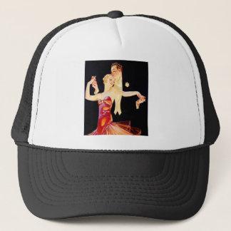 Dancing Flapper Trucker Hat