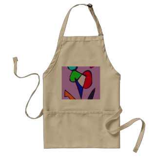 Dancing Flowers Adult Apron