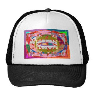 Dancing Flowers - Dance Floor Hats