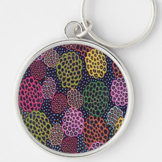 Dancing Flowers Keychain