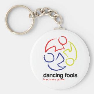 Dancing Fools Keychain