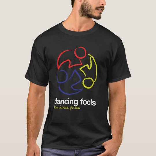 Dancing Fools (logo only, dark) T-Shirt