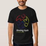 Dancing Fools (logo only, dark) Tee Shirt
