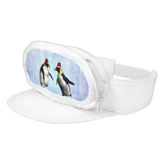 Dancing for christmas visor
