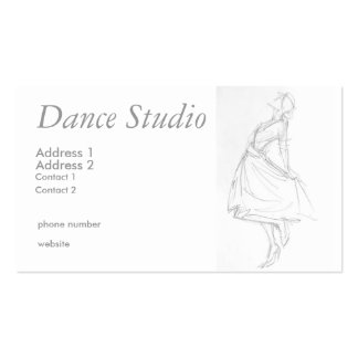 Dancing for joy business card