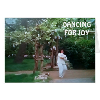 "DANCING FOR JOY ""DAD'S HOMECOMING"" CARD"