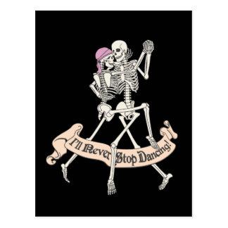 Dancing Forever Postcard
