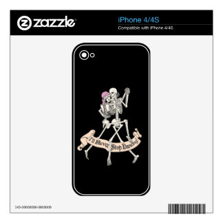 Dancing Forever iPhone 4S Decal