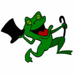Dancing Frog Acrylic Cut Out