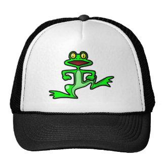 Dancing Frog Trucker Hat