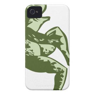 Dancing Frog iPhone 4 Case