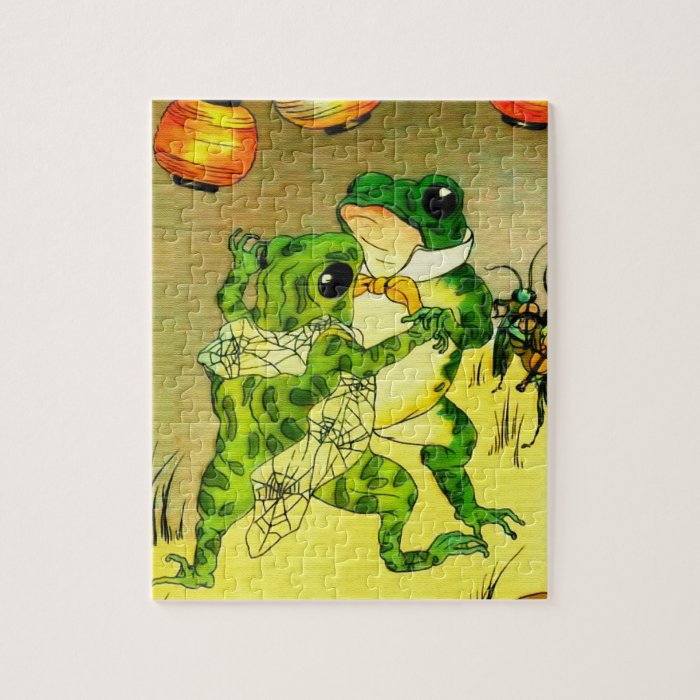 Dancing Frogs Jigsaw Puzzle