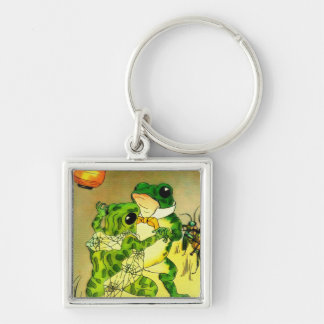Dancing Frogs Keychain