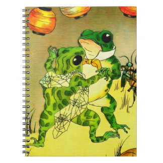 Dancing Frogs Notebooks