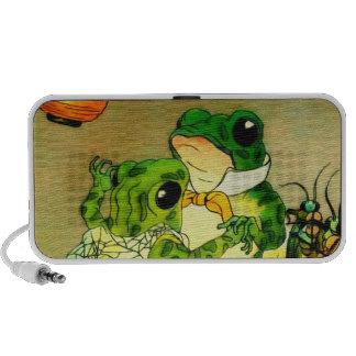 Dancing Frogs Notebook Speakers