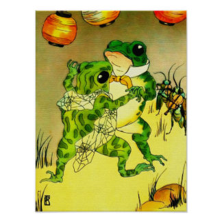 Dancing Frogs Poster