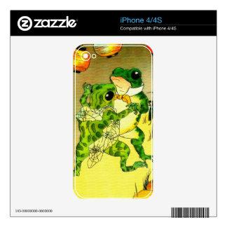 Dancing Frogs iPhone 4 Skin