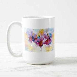 Dancing Fuchsias! Classic White Coffee Mug
