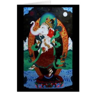 Dancing Ganesh Greeting Card