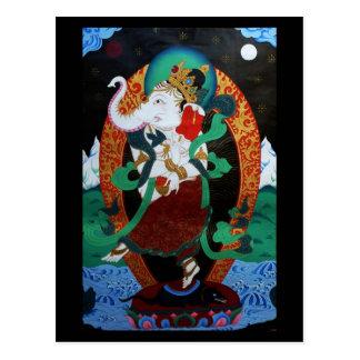 Dancing Ganesh Postcard