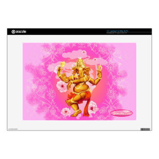 Dancing Ganesha 15 inch laptop skin