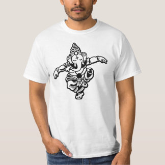 Dancing Ganesha: Art,Science,Intellect,wisdom Tee Shirt