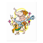 Dancing Ganesha Postcard