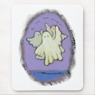 Dancing ghosts history past spirits family ART Mouse Pad
