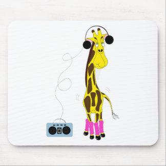 Dancing Giraffe Mouse Pad