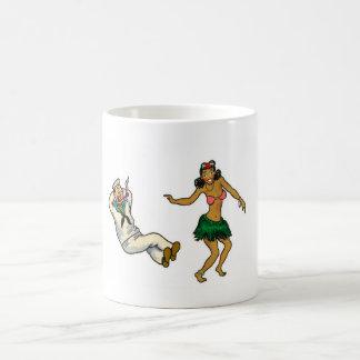 dancing girl mug