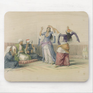 Dancing Girls at Cairo, from 'Egypt and Nubia' Mouse Pad