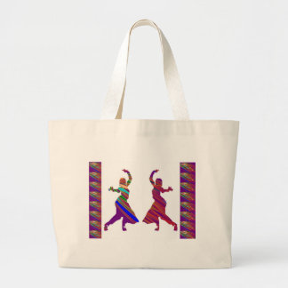 DANCING Girls :  Indian Bollywood Style Dance Canvas Bag