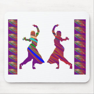 DANCING Girls :  Indian Bollywood Style Dance Mouse Pads