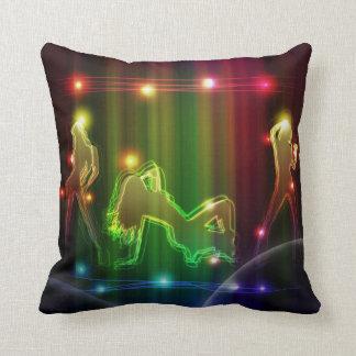 Dancing Girls - Polyester Pillow
