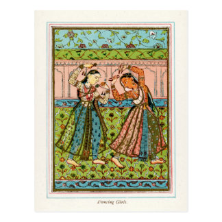 Dancing Girls Postcard