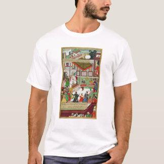 Dancing girls taken Baz Bahadur's palace at Malwa T-Shirt