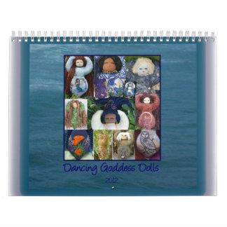 Dancing Goddess Dolls 2012 Calendar