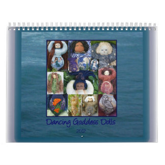 Dancing Goddess Dolls 2012 Calendar