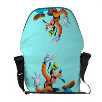 Dancing Goofy Courier Bags at Zazzle